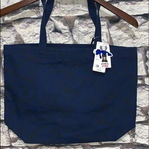 Kaws Companion Uniqlo Tote Bag 2019 UT Blue Canvas